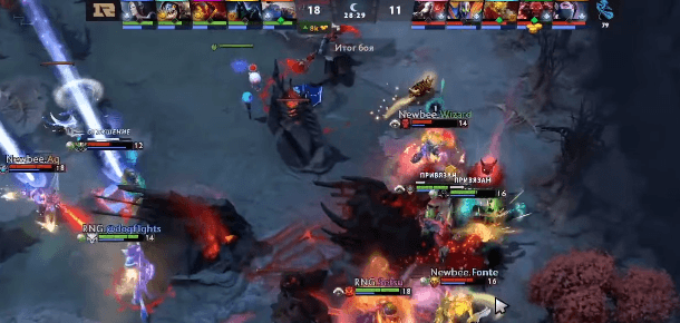 Royal Never Give Up – Newbee 14.02.2020